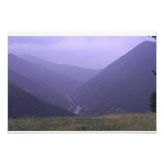 山 フォトプリント