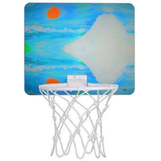 山 ミニバスケットボールゴール