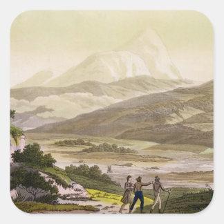 山Cayambe、「Le Costume Ancienからのエクアドル、と スクエアシール