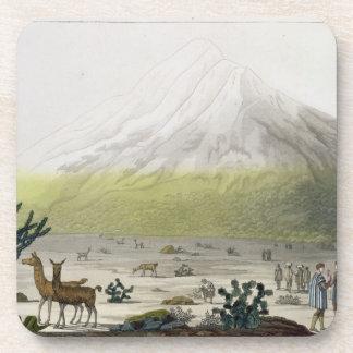 山Chimborazo、「Le Costume Ancienからのエクアドル、 コースター