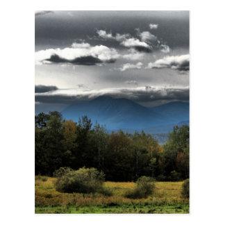 山Katahdin ポストカード