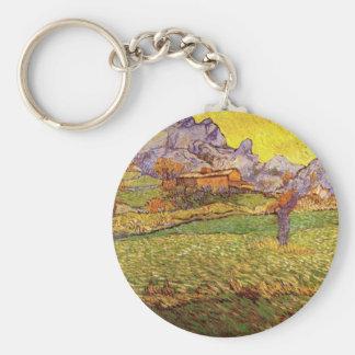 山Le Mas Deセントポールの草原 キーホルダー