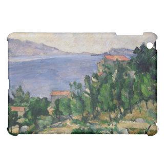 山Marseilleveyreおよび島の眺め iPad Mini カバー