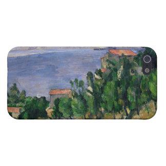 山Marseilleveyreおよび島の眺め iPhone 5 カバー