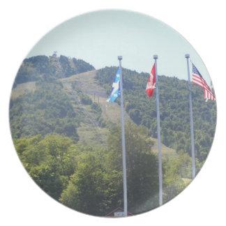 山Orford、ケベック-プレート プレート