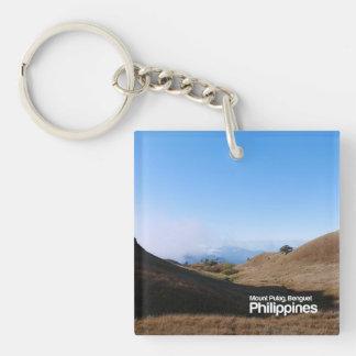 山Pulag BenguetフィリピンKeychain キーホルダー