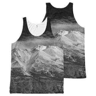 山SHASTA オールオーバープリントタンクトップ