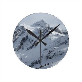 山Shuksan 2 ラウンド壁時計