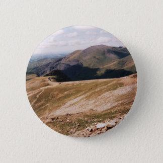 山Snowdon 5.7cm 丸型バッジ