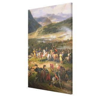 山Thabor、詳細ナポレオンおよび彼の戦って下さい キャンバスプリント