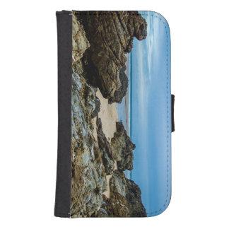 岩が多い傷- Samsungの銀河系のウォレットケース ウォレットケース