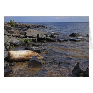 岩が多い海岸線 カード