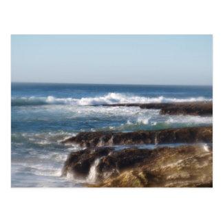 岩が多い海岸 ポストカード