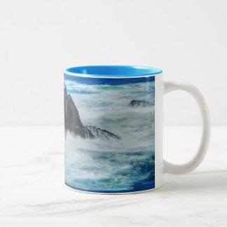 岩が多い範囲 ツートーンマグカップ