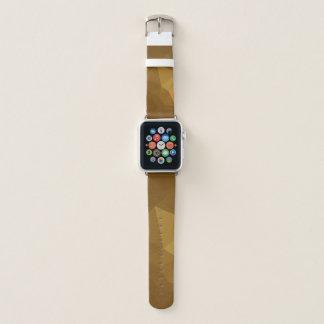 岩のように固いLoveGeoの抽象的な幾何学的設計- Apple Watchバンド