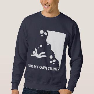 岩登り私の自身の発育阻害 スウェットシャツ
