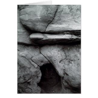 岩石彫刻の洞窟# 2 カード