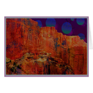 岩石彫刻# 2 カード