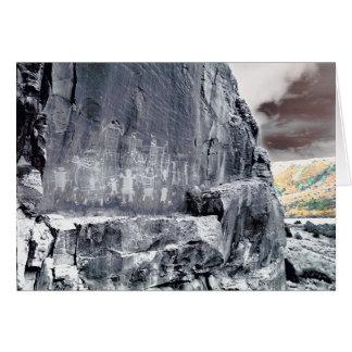 岩石彫刻# 4 カード