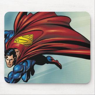 岬が付いているスーパーマンのflys マウスパッド