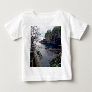 岬のお世辞のオリンピック半島-ワシントン州 ベビーTシャツ