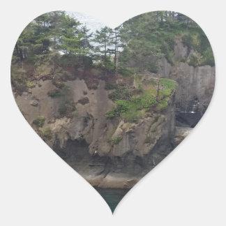 岬のお世辞 ハートシール