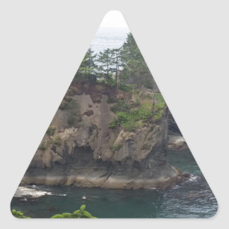 岬のお世辞 三角形シール