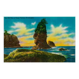 岬のお世辞、WAの老人 ポスター