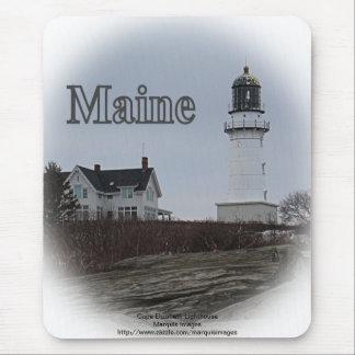 岬のエリザベスの灯台 マウスパッド