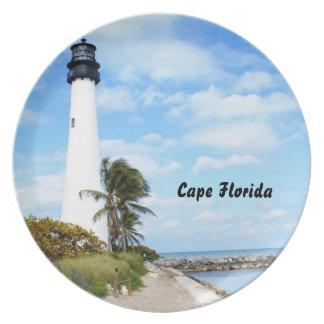 岬のフロリダの灯台 プレート