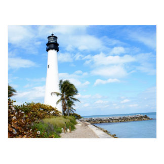岬のフロリダの灯台 ポストカード