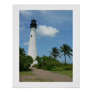 岬のフロリダの灯台II ポスター