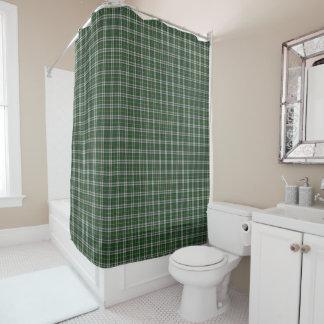 岬のブルターニュのタータンチェックのシャワー・カーテン シャワーカーテン