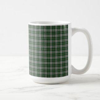 岬のブルターニュのタータンチェック格子縞 コーヒーマグカップ