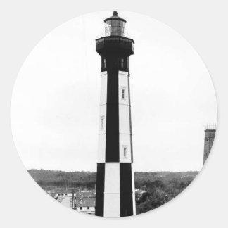 岬のヘンリーの灯台 ラウンドシール