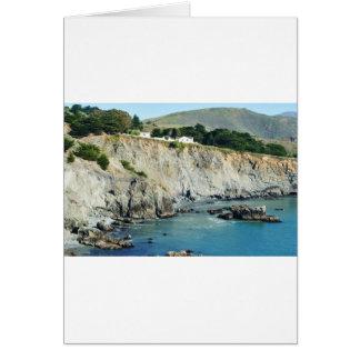 岬の北カリフォルニアのオーシャンサイド カード