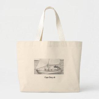 岬の小舟のバッグ ラージトートバッグ