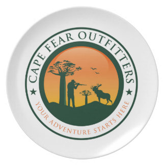 岬の恐れの装身具商のロゴ プレート