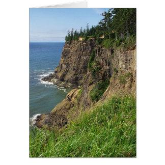 岬のMearesの景色の視点-メッセージカード カード