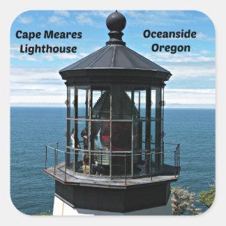岬のMearesの灯台、オレゴン スクエアシール