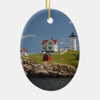岬のNeddickの灯台 セラミックオーナメント