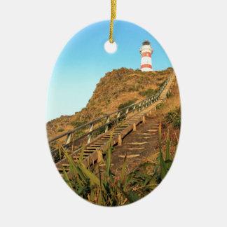 岬のPalliserの灯台 セラミックオーナメント