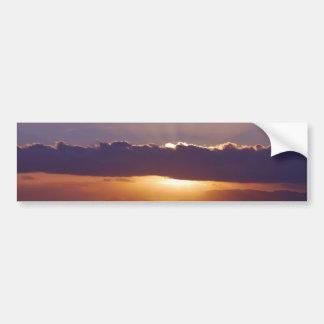 岬南アフリカ共和国の日没 バンパーステッカー