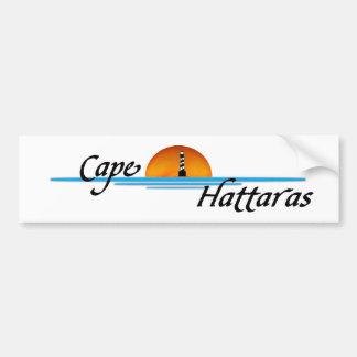岬Hattaras バンパーステッカー