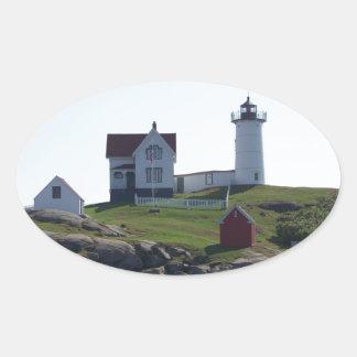 岬Neddick/こぶライト2 楕円形シール