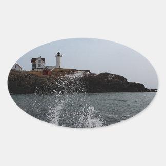 岬Neddick/こぶライト 楕円形シール