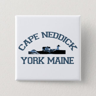 岬Neddick -メイン 5.1cm 正方形バッジ
