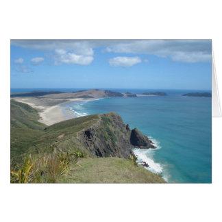 岬Reinga、NZの崖 カード