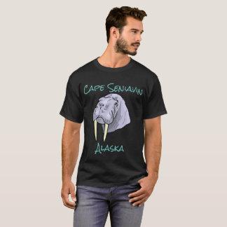 岬Seniavinのアラスカのセイウチ Tシャツ