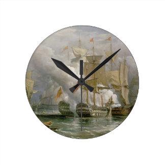 岬St.ヴィンチェンツォ、1797年2月14日の戦い ラウンド壁時計